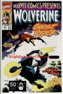 MARVEL COMICS PRESENTS #68, NM, Wolverine, Ghost Rider, more MCP in store