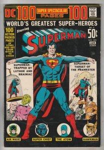 Superman #245 (Jan-72) FN/VF Mid-High-Grade Superman