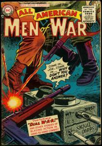 ALL-AMERICAN MEN OF WAR #26 1955-DC COMICS-WW II BATTLE VG