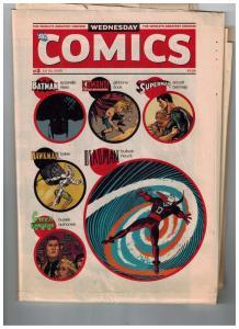 Wednesday Comics # 3 2009 DC Comics Newspaper Superman Batman Green Lantern S87