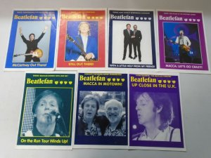 Beatlefan Magazine lot of 19 different later Paul McCartney issues