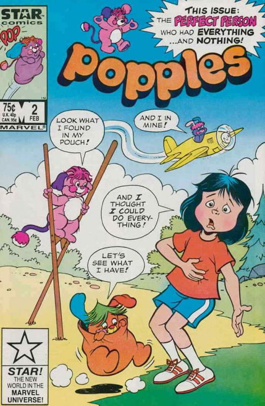 Popples #2 FN; Marvel Star | save on shipping - details inside