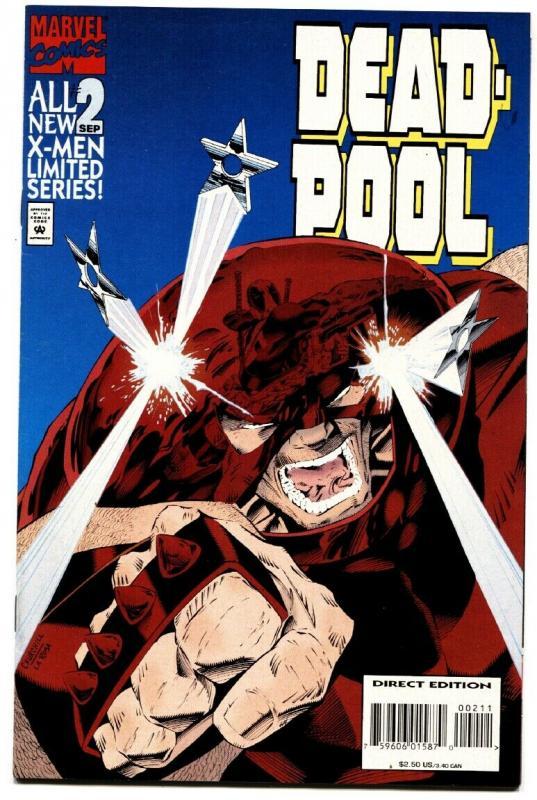 Deadpool #2 1994 high Grade movie Soon Key book VF/nm