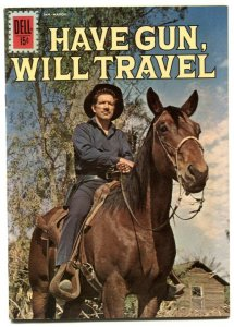 Have Gun Will Travel #12 1962- Dell western-Richard Boone- FN+