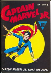 Flashback #17 1970's-Reprints Captain Marvel Jr. #1  from 1942-VF/NM