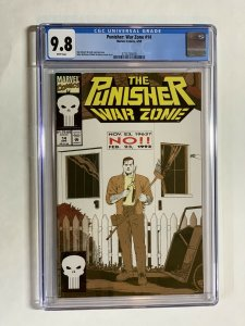 Punisher War Zone 14 Cgc 9.8 Wp Marvel Only 5 On Census