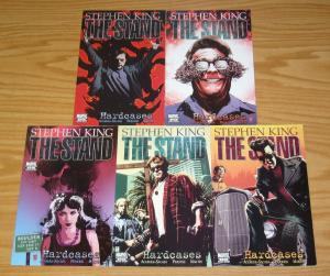 Stephen King's the Stand: Hardcases #1-5 VF/NM complete series set lot 2 3 4