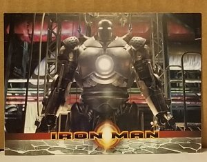 2008 Iron Man Movie Trading Card #39