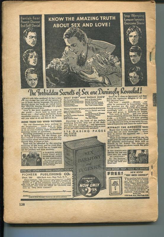 DIME DETECTIVE 05/1934-POPULAR--HARD BOILED PULP-CRIME-fr/good