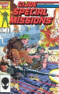 G.I. JOE Special Missions #2 Marvel Comics (ungraded) stock photo / ID#B-4 / 001
