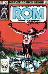 Rom (1979 series) #43, VF+ (Stock photo)