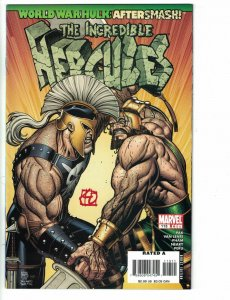 Incredible Hercules #113 FN signed by Khoi Pham - World War Hulk tie in - Marvel