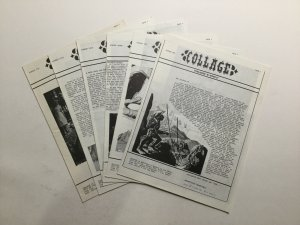 Collage 1-6 16 18 19 Fanzine Magazine Very Fine Vf Published By The SFCA