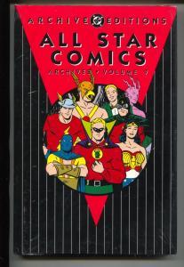 All Star Comics Archives-Vol 7-Golden Age Color Reprints-Hardcover
