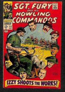 Sgt. Fury #54 (1968)