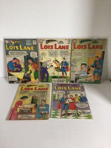 Superman's Girlfriend Lois Lane 41 42 43 44 45 46 47 48 49 50 Fr+-Vg- 1.5-3.5