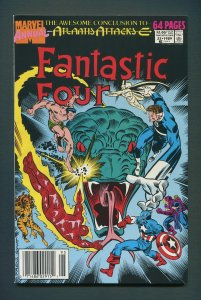 Fantastic Four Annual #22  / 9.0 - 9.2 NM-  /  Newsstand / 1989