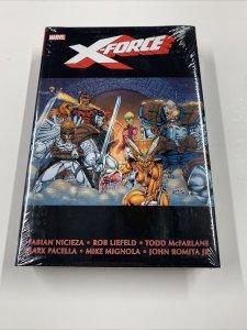X-force Omnibus 1 Mint Sealed X-men Marvel HC Fabian Nicieza Rob Liefeld