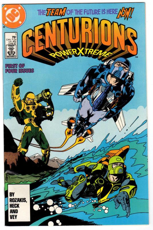 CENTURIONS #1, VF/NM, PowerXtreme, Don Heck, DC, 1987,  more in store