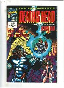 The Incomplete Death's Head #3 NM- 9.2 Marvel UK Comics 1993 Death's Head II