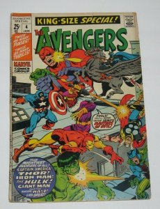 Avengers King-Size Special #4 1971 Marvel Comics GD/VG