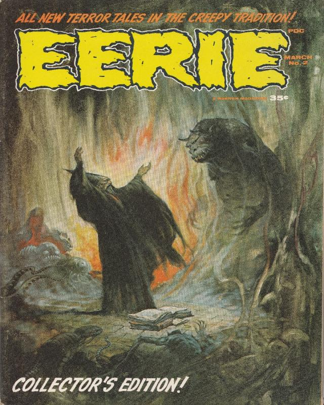Eerie Magazine #2 (March 66) VF-NM High Grade White to Off-White Pages