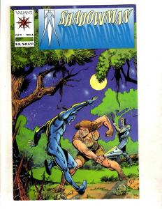 Shadowman # 6 NM 1st Print Valiant Comic Book Magnus Turok Solar Rai MR7