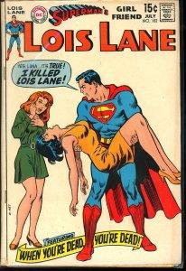 Superman's Girl Friend, Lois Lane #102 (1970)