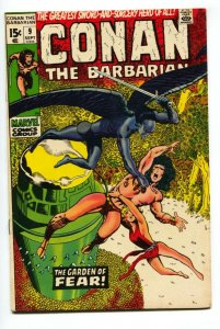 CONAN THE BARBARIAN #9 BARRY SMITH ROBERT E HOWARD 1971- FN