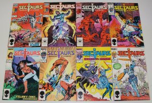Sectaurs #1-8 VF/NM complete series based on toys - bill mantlo/mark texeira set