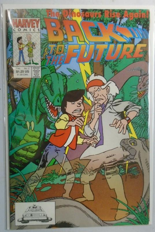 Back to the Future #2, Gil Kane Cover 4.0 VG (1991)