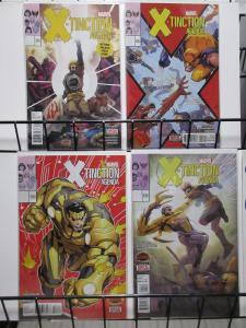 X-Tinction Agenda (Marvel 2015) #1-4 Complete Genosha Survival w Havok