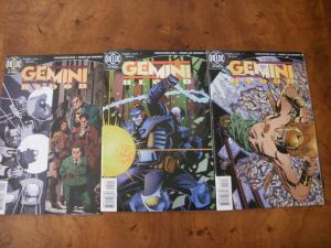 Gemini Blood #1 #2 #3 (Helix DC Comics) 1996 Hinz Edwards
