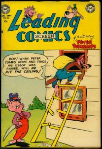 LEADING SCREEN COMICS #62 1953-DC COMIC-PETER PORKCHOPS VG