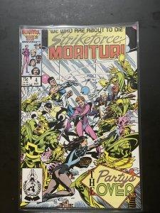Strikeforce: Morituri #4 (1987)