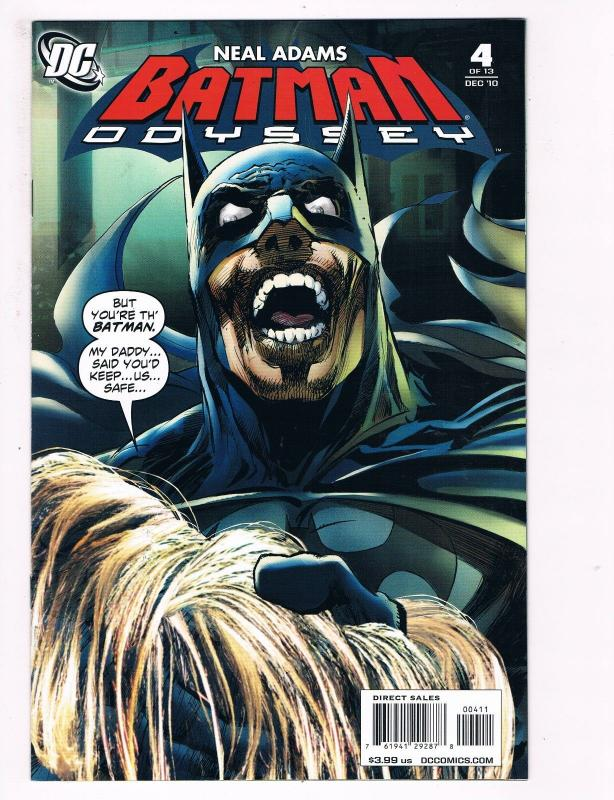 Batman Odyssey # 4 DC Comic Books Awesome Issue Modern Age Neal Adams WOW!!! S30
