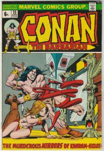 Conan the Barbarian British Variant #25 (Apr-73) FN/VF Mid-High-Grade Conan t...