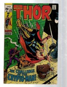 Mighty Thor # 174 FN/VF Marvel Comic Book Loki Odin Asgard Sif Avengers Hulk RB8