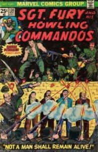 Sgt. Fury #130 FN; Marvel | save on shipping - details inside