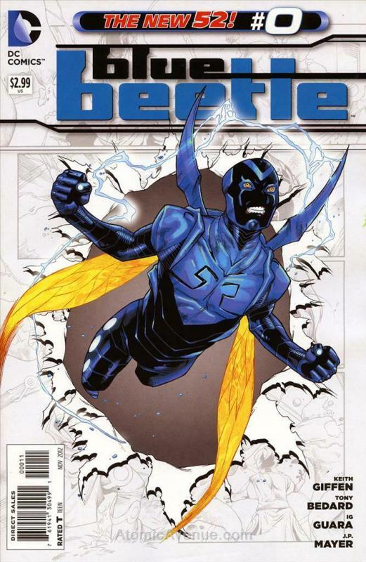 Blue Beetle (5th Series) #0 VF/NM; DC | save on shipping - details inside