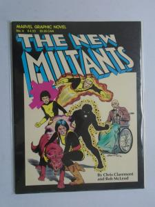 The New Mutants GN (Marvel) #1, (4th Print) 6.0 (1982)