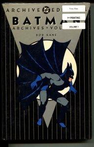 Batman Archives 1 hardcover- sealed