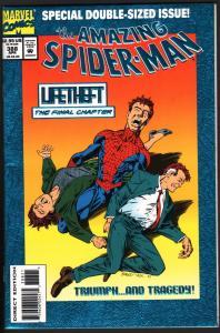 AMAZING SPIDER-MAN #388-MARVEL COMICS NM-HIGH GRADE