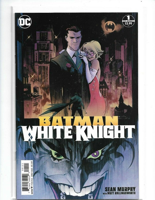 Batman White Knight #1 Main Cover First Print DC Comics  nw114