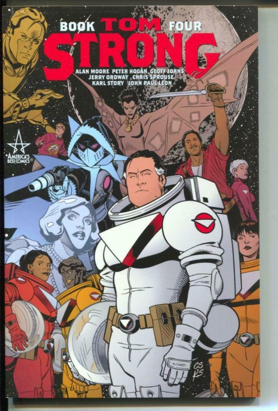 Tom Strong-Vol 4-Alan Moore-TPB-Trade