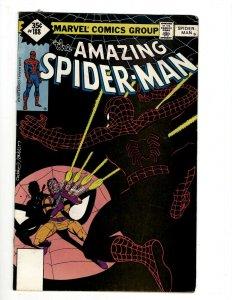 Amazing Spider-Man # 188 VF Marvel Comic Book Goblin Mary Jane Gwen Lizard OF2