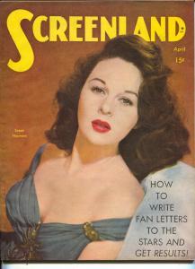 ScreenLand-Susan Hayward-Bing Crosby-John Garfield-Dorothy McGuire-Apr-1945