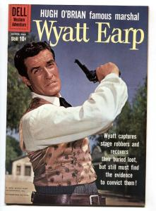 WYATT EARP #10 HUGH O'BRIAN TV PHOTO CVR MANNING ART VF/NM