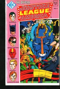 The Official Justice League of America Index #4 (1986)