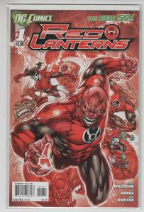 RED LANTERNS (2011 DC) #1 NM- FIRST PRINT NM-